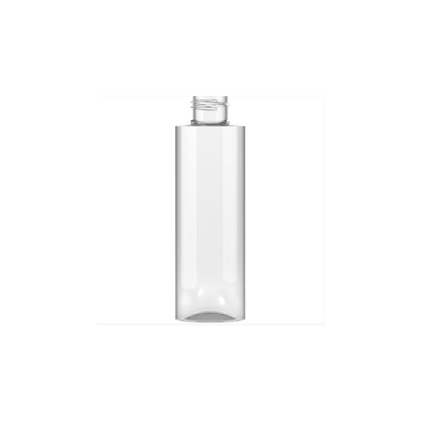 150ml Clear Plastic Bottle 24mm Neck Biokosmetikos Akademija