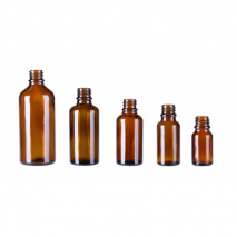 100 ml. brown glass bottle (without cap)