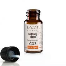 Ekologiškų granatų sėklų CO2 ekstraktas