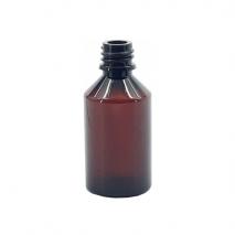 Plastikinis rudas buteliukas 50 ml GL-18