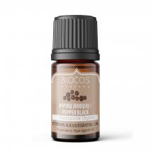 Pepper black organic essential oil